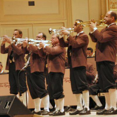 Trompetensterne in der Carnegie Hall